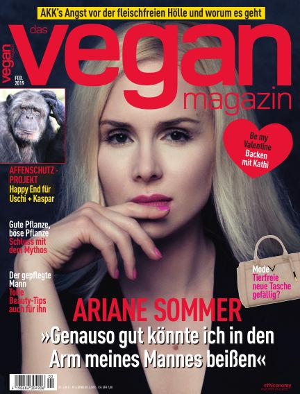 das vegan magazin February 01, 2019 00:00