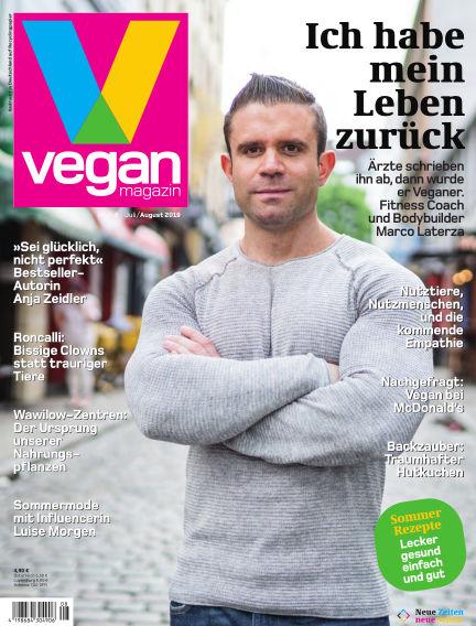 das vegan magazin July 27, 2019 00:00