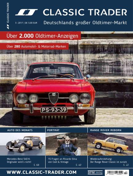 Classic Trader Magazin May 13, 2017 00:00