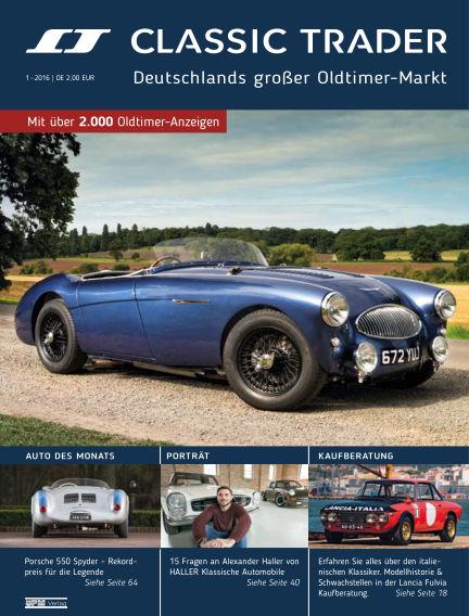 Classic Trader Magazin December 09, 2016 00:00