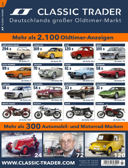 Classic Trader Magazin April 26, 2018 00:00