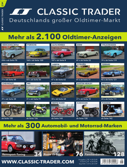 Classic Trader Magazin August 30, 2018 00:00