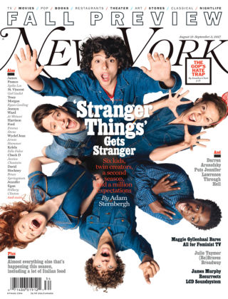 New York Magazine Aug 21-Sep 3 2017