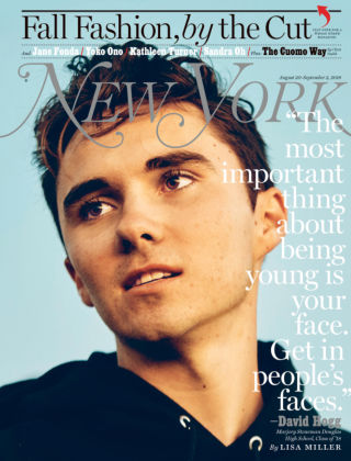New York Magazine Aug 20-Sep 2 2018