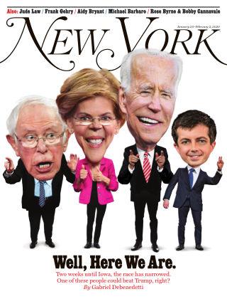 New York Magazine Jan 20-Feb 2 2020