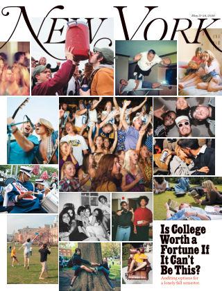 New York Magazine May 11-24 2020