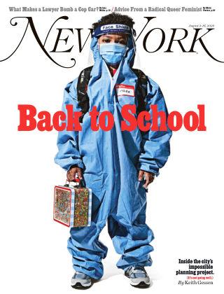 New York Magazine August 3-16, 2020