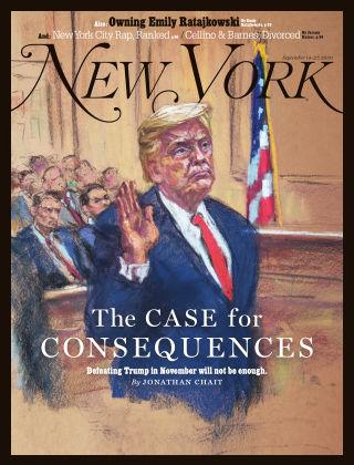 New York Magazine Sept 14-27 2020