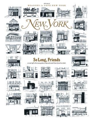 New York Magazine December 7-20, 2020