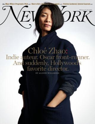 New York Magazine 2/15-2/28/21