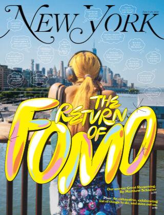 New York Magazine 6/7-6/20/21