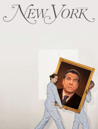 New York Magazine 8/16-8/29/21