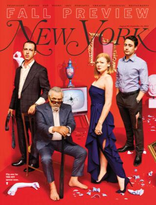 New York Magazine 8/30 - 9/12 2021