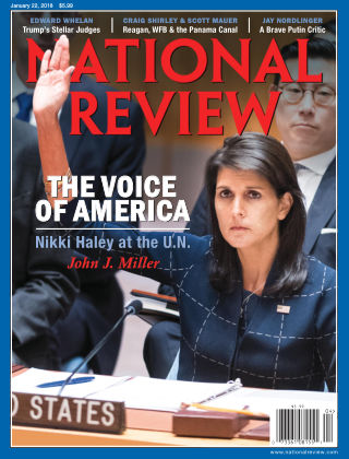 National Review Jan 22 2018