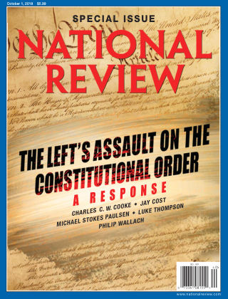 National Review Oct 1 2018