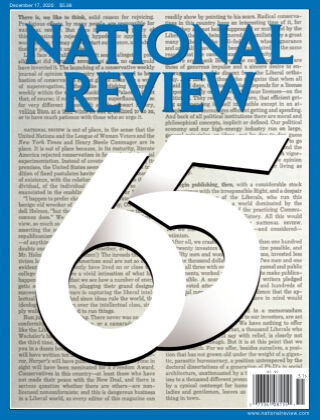 National Review December 17 2020