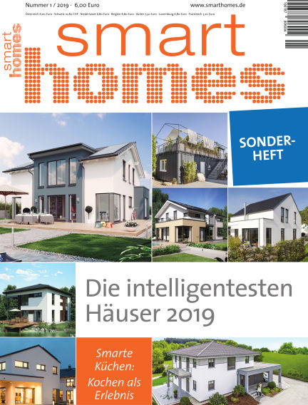 smart homes March 30, 2019 00:00
