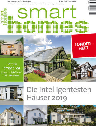 smart homes Sonderheft 2.2019