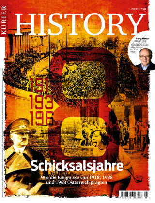KURIER History Schicksalsjahre