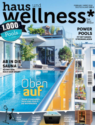 haus+wellness* Nr. 01 2018