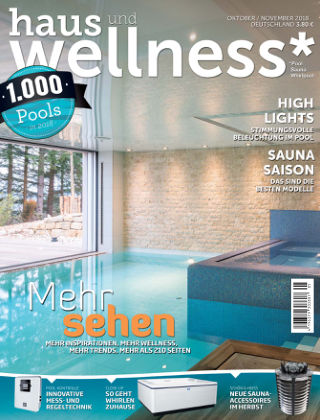 haus+wellness* Nr. 05 2018