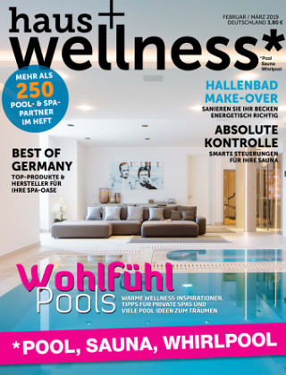 haus+wellness* Nr. 01 2019