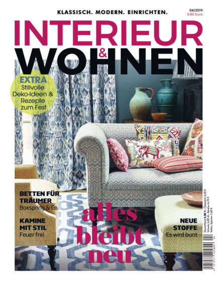 INTERIEUR WOHNEN October 10, 2019 00:00