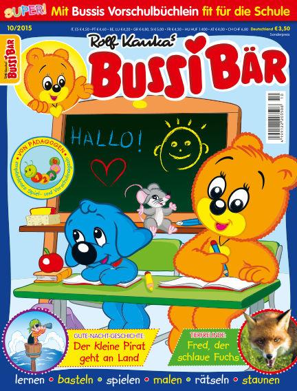 BUSSI BÄR September 03, 2015 00:00