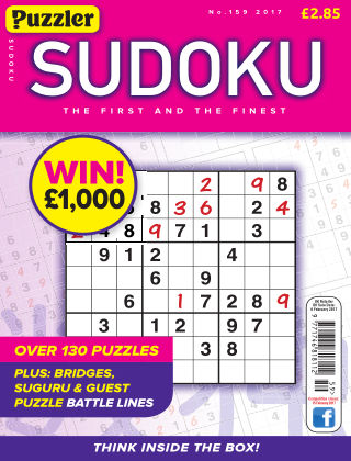 Puzzler Sudoku No.159