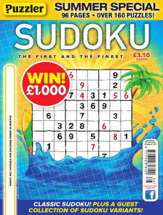 Puzzler Sudoku No.166