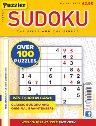 Puzzler Sudoku No.167