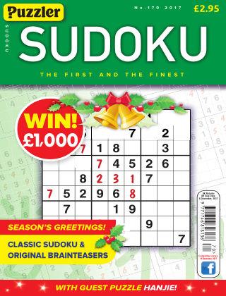 Puzzler Sudoku No.170