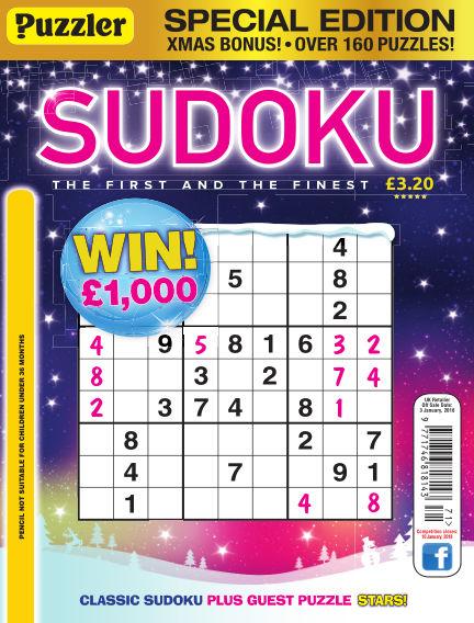 Puzzler Sudoku December 06, 2017 00:00