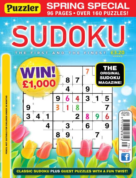Puzzler Sudoku April 04, 2018 00:00