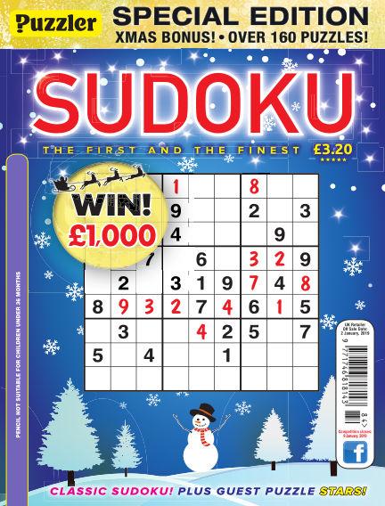 Puzzler Sudoku December 05, 2018 00:00