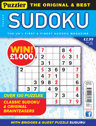 Puzzler Sudoku No.187