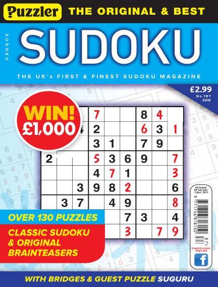 Puzzler Sudoku February 27, 2019 00:00