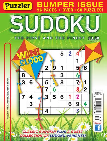Puzzler Sudoku July 17, 2019 00:00