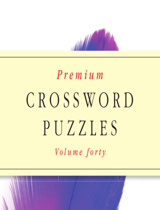 Premium Crosswords No.40