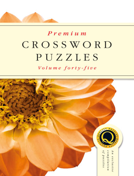 Premium Crosswords August 29, 2018 00:00