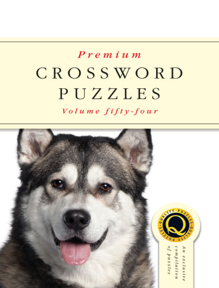 Premium Crosswords May 08, 2019 00:00