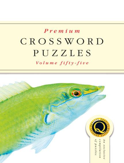 Premium Crosswords June 05, 2019 00:00