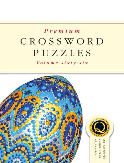 Premium Crosswords April 08, 2020 00:00
