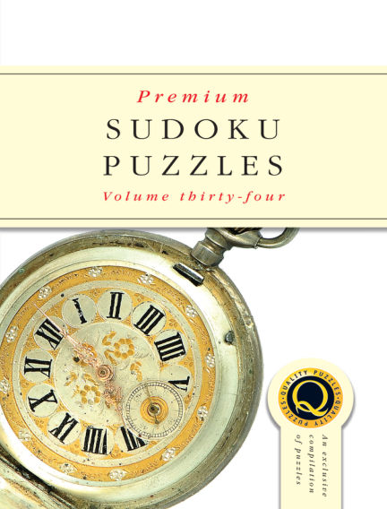 Premium Sudoku October 25, 2017 00:00
