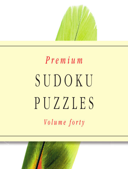 Premium Sudoku April 11, 2018 00:00