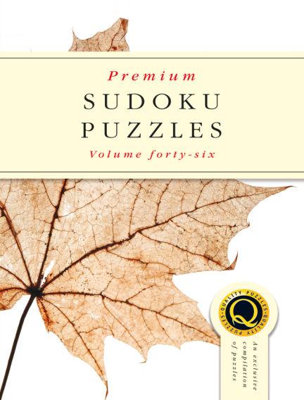 Premium Sudoku September 18, 2018 00:00