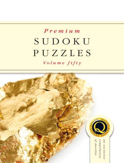 Premium Sudoku January 16, 2019 00:00
