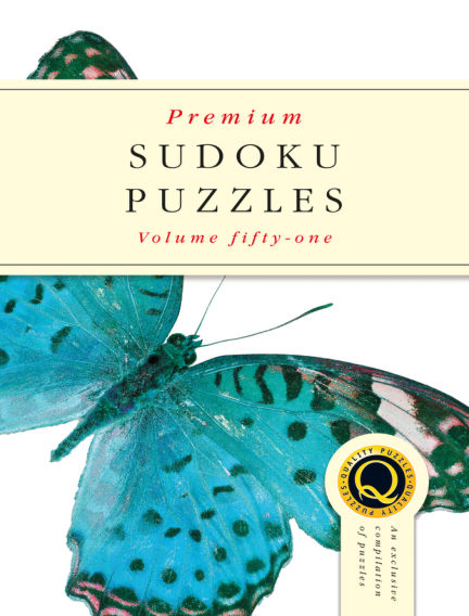 Premium Sudoku February 13, 2019 00:00