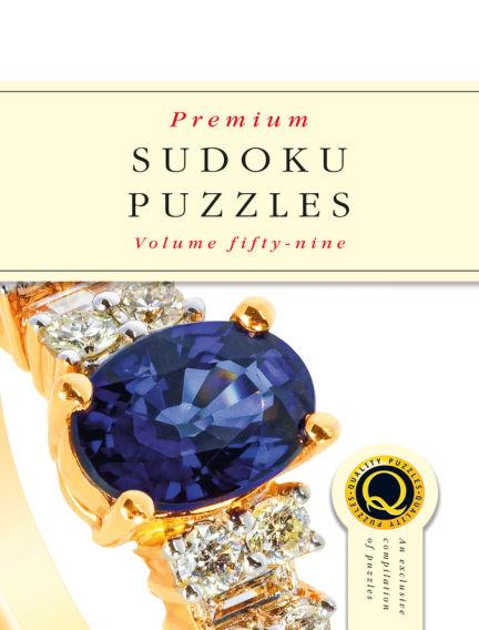 Premium Sudoku September 25, 2019 00:00