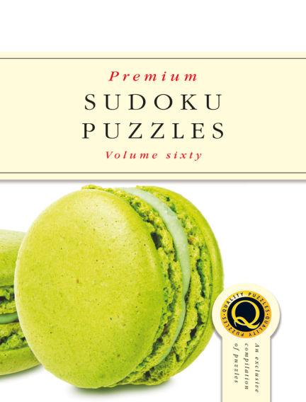 Premium Sudoku October 23, 2019 00:00